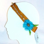 Golden Garden Elastic Headband